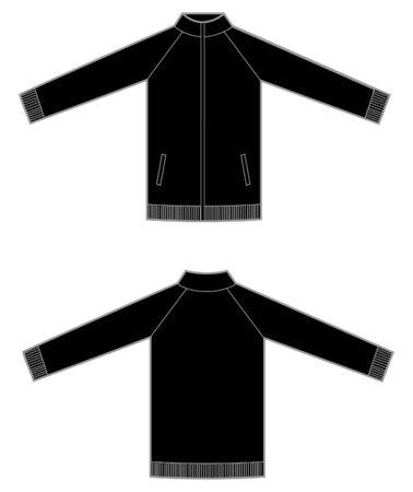 zip sweatshirt man