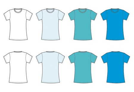 round collar: camiseta basica  mujer