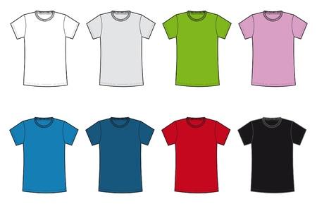 woman white shirt: camiseta basica  mujer