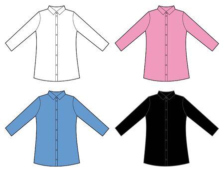 shirt sleeves: women