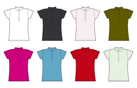 t shirt model: donne camicia