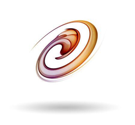 golden ratio: icône de couleur fumée