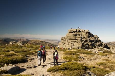 Excursion in seven peaks, Sierra de Guadarrama