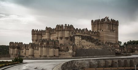 Coca Castle, Segovia. Castile and Leon (Spain)