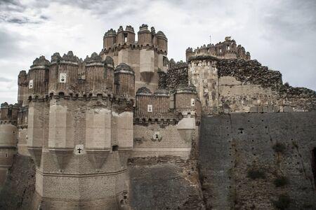 Coca Castle, Segovia. Castile and Leon (Spain)