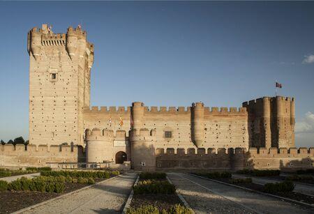 Castle of Medina del Campo. Castile and Leon (Spain)