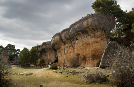Natural Park The Enchanted City, Cuenca. spain