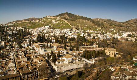 Albaicin and Sacromonte, Granada. Spain.