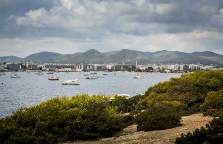 Port of Ibiza, Balearic Islands. spain Stock Photo