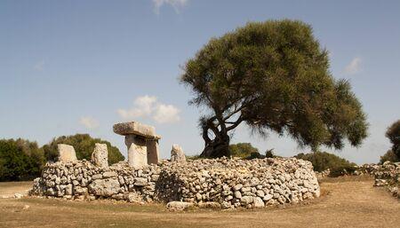 Talaiots of Minorca, Balearic Islands. spain