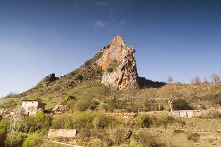 Poza de la Sal, Las Merindades north of Burgos, Castilla y Leon. Village of Felix Rodriguez de la Fuente. Spain