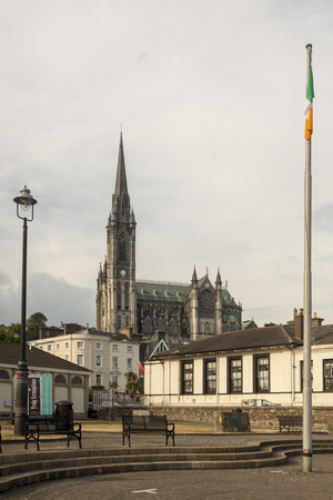 Neo-Gothic Cathedral of Cobh, County Cork. South coast of Ireland