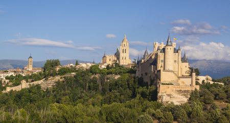 Segovia, monumental city. Alcazar, cathedral and churches