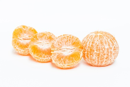 Orange on White Background Stock Photo - 17714780