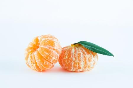 reticulata: Mandarin orange, Citrus reticulata isolated on white background