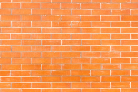 Seamless Red Brick Wall - Background Texture with Plenty photo