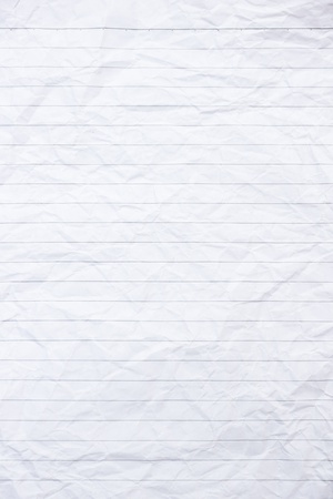 The White notebook paper background Stock Photo