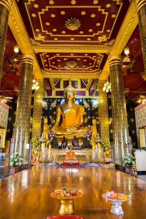 Buddha the most beautiful in Thailand