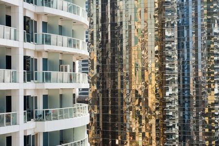 Appartements résidentiels à Dubaï, Émirats Arabes Unis Banque d'images - 29871302