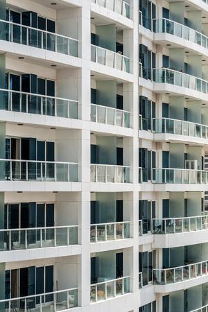 Appartements résidentiels à Dubaï, Émirats Arabes Unis Banque d'images - 29871340