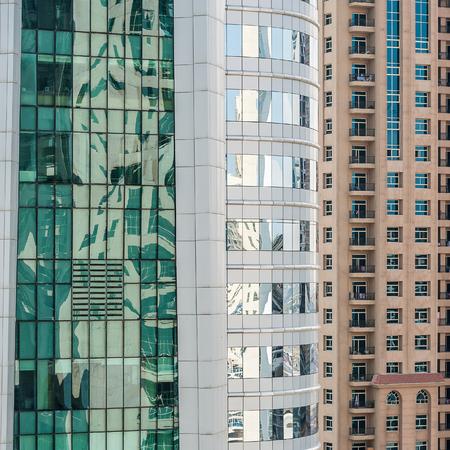 Appartements résidentiels à Dubaï, Émirats Arabes Unis Banque d'images - 29871343