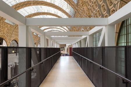 PARIS, FRANCE - 17 mai 2014: A l'intérieur du Musée d'Orsay. Ouvert en 1986, il abrite la plus grande collection de chefs-d'?uvre impressionnistes et post-impressionnistes dans le monde. Banque d'images - 31156510