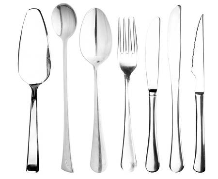 Plug, the spoon, a knifes Stock Photo - 11328251