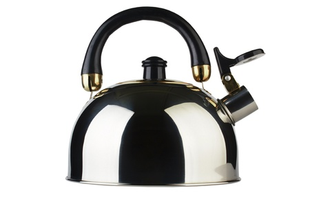 Kettle isolated on white background Stock Photo - 11328163
