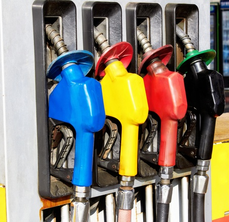 Gas pump nozzles  photo