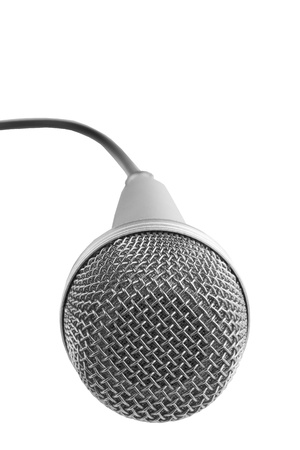 Microphone for Karaoke. Isolated on white background