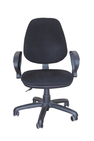 Office chair isolated on white background Stock Photo - 13628128