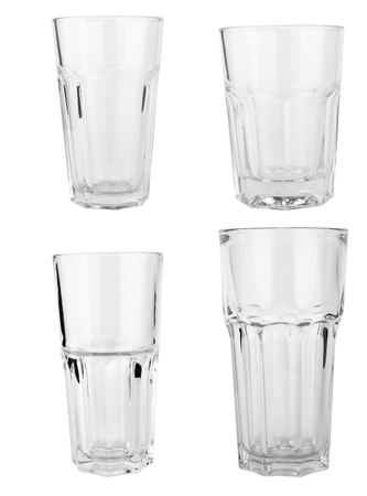 glasses collection isolated on a white background Stock Photo - 13869681