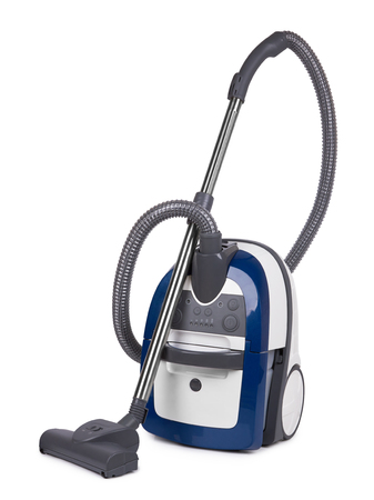 sweeper: Vacuum cleaner isolated on a white background Stock Photo