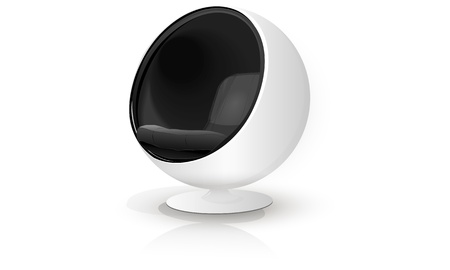 Chair sphere in modernist style Stock Vector - 16113842