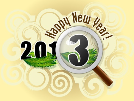 New Year Stock Vector - 16462734