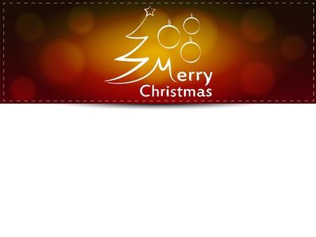 Christmas card for text