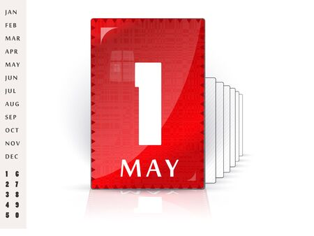calendrier des f�tes - un bel affichage des dates festives