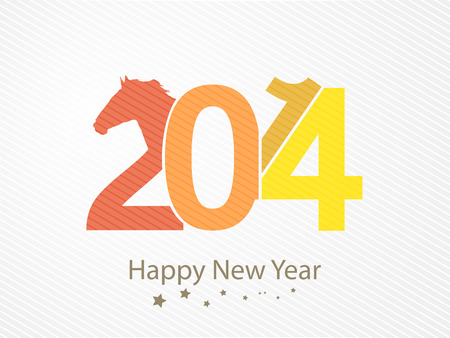 background on the new year horses 2014