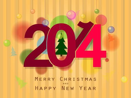 Beau fond sur le th�me de No�l et nouvel an 2014
