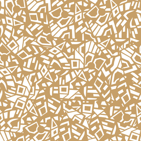 different figures: vector abstract multicolored seamless pattern of different geometric figures