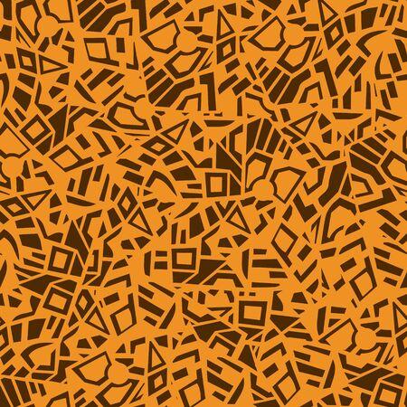 figuras abstractas: Resumen de vectores de patrón transparente multicolor de diferentes figuras geométricas Vectores