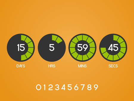 remaining: Countdown Timer for the website.