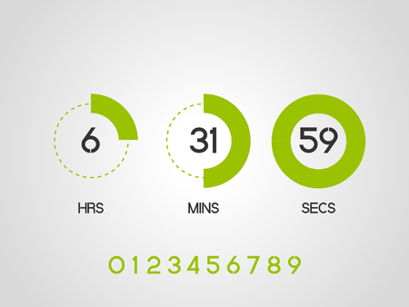 timer: Countdown Timer for the website.