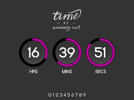 Tech countdown timer