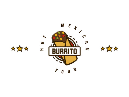 burrito Illustration