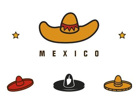 Mexican contour hats
