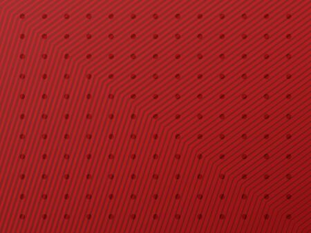 Striped red background with color rich gradient