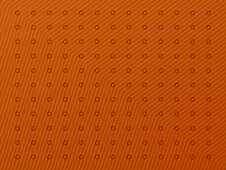 Striped orange background with color rich gradient