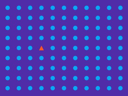 contrasting vector blue background of geometric shapes  イラスト・ベクター素材