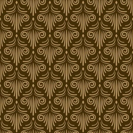 dusky: Seamless vector floral wallpaper design for wedding cards and invitations, fabrics and other backgrounds Illustration